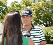Billy Horschel at the 2015 Barclays Pro-Am held at the Plainfield Country Club in Edison,New Jersey. stock photo