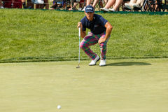 Billy Horschel at the Memorial Tournament Royalty Free Stock Photography