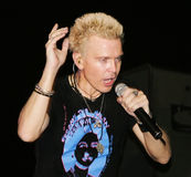 Billy Idol Royalty Free Stock Images