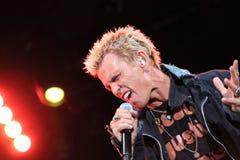 Billy Idol Concert Donauinselfest 2010 Stock Photo