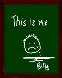 Billy ist traurig Stockfotos