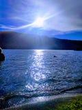 Billy jezioro Chinook obrazy royalty free