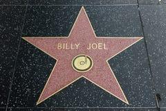 Billy Joel gwiazda na Hollywood spacerze sława zdjęcia royalty free
