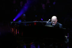 Billy Joel. NEW YORK-APR 3: Singer/songwriter Billy Joel performs in concert at Madison Square Garden on April 3, 2015 in New York City stock image