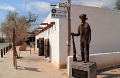 Billy the Kid Monument Stock Photography