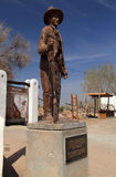 Billy the Kid Monument Royalty Free Stock Image