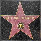 Billy-loodjes thorntons ster op Hollywood-Gang van Bekendheid stock foto's