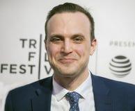 Billy Lyons p? premi?ren av ?den tar en d?re ?p? den Tribeca filmfestivalen 2019 royaltyfria bilder