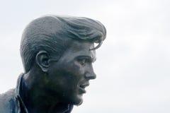 Billy Owłosiona statua Liverpool obrazy royalty free