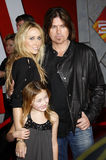 Billy Ray Cyrus Cyrus i Tish fotografia royalty free