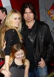 Billy Ray Cyrus Cyrus i Tish zdjęcie stock