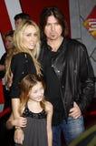 Billy Ray Cyrus e Tish Cyrus fotografia de stock royalty free