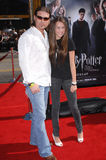Billy Ray Cyrus, Miley Cyrus Stock Images