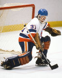 Billy Smith. New York Islanders goalie Billy Smith. (Image taken from color slide Stock Images