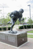 Billy Vessels heisman Statue Royalty Free Stock Images