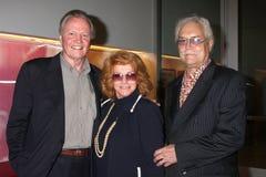 Billy Wilder, Ann, Jon Voight, Roger Smith fotografia royalty free