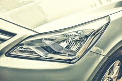 Billykta av den moderna bilen Royaltyfri Fotografi