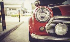 Billykta av Retro stil för tappningbil Fotografering för Bildbyråer