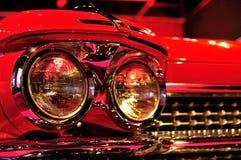 Billyktor för en klassikerbil Royaltyfri Bild