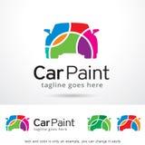 Bilmålarfärg Logo Template Design Vector Royaltyfri Foto