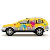 Bilmålning Arkivfoton