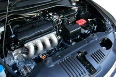 Bilmotor Arkivfoto