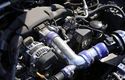 Bilmotor Arkivbild