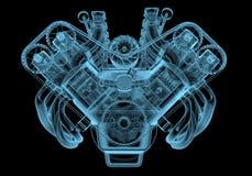 Bilmotor Fotografering för Bildbyråer
