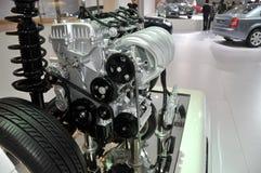 Bilmotordel Royaltyfri Foto