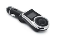 Bilmp3-spelare med fmsändaren Fotografering för Bildbyråer