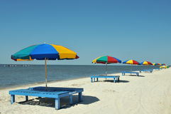 Biloxi Beach Stock Image