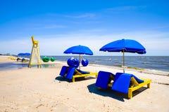 Biloxi Beach Stock Image