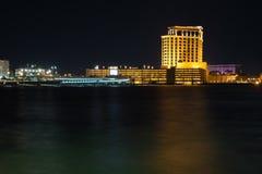 Biloxi Mississippi horisont Fotografering för Bildbyråer