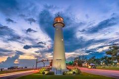 Biloxi, Mississippi, USA Lighthouse royalty free stock image