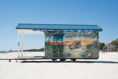 Biloxi plaża Zdjęcie Royalty Free