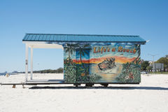 Biloxi strand Royaltyfri Foto