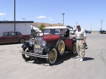 bilpensionärtappning 1928 Royaltyfri Foto