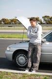 bilproblem Arkivbild