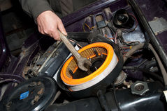 bilreparation Fotografering för Bildbyråer