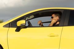 Bilsäkerhetsbälte Fotografering för Bildbyråer