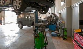Bilservice inom Royaltyfria Foton