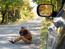 Bilskada fotografering för bildbyråer