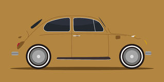 bilskugga vektor illustrationer
