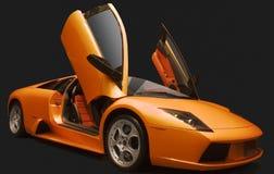 bilsorangesportar Arkivfoton