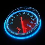 bilspeedometer Arkivfoton