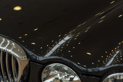 Bilstötdämpare Arkivfoto