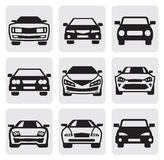 Bilsymbolset Fotografering för Bildbyråer