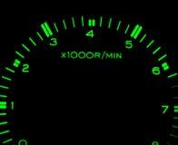 biltachometer Arkivfoto
