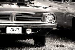 biltappning 1970 Arkivfoto