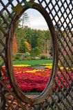 Biltmore庄园庭院,阿什维尔NC 库存图片